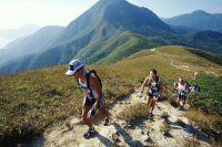 Eine Wandergruppe auf dem MacLehose Trail, dem längsten Hongkonger Wanderweg.