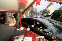 Glühwein Drive-in beim Hotel Maximlian***** in Bad Griesbach