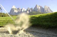 Golfen unter dem Schlern in Südtirol – Helmuth Rier