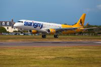 Eine Maschine der Fluggesellschaft Aurigny