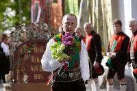Trachtenumzug beim Herbstfest in Schenna