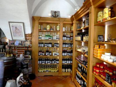 Klein, aber fein - der-Shop auf Wasserschloss Mellenthin