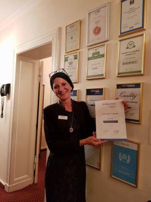 Antje Last, Inhaberin des Berliner Kult Hotel Auberge