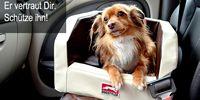 Er vertraut Dir - schütze ihn. Mit den Dogstyler-Produkten sichern Sie Ihren Hund wirksam und das Auto bleibt sauber.