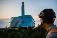 Canadian Museum of Human Rights in Winnipeg, Manitoba. Bildnachweis: Destination Canada
