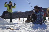 Eisfischen, Bildnachweis: Tourism New Brunswick