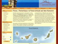 Finca, Ferienhaus & Ferienwohnung auf den Kanaren günstig mieten von privaten Anbietern