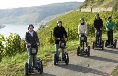 Tour durch die Weinberge - Rahmenprogramme Hotel Weinberg Schlösschen