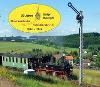 20 Jahre Museumsbahn Schönheide unter Dampf