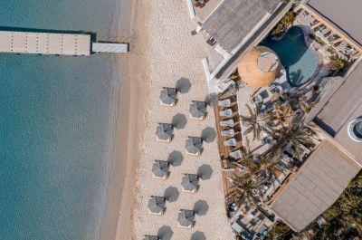 Kensho Psarou Beach Hotel, Mykons - @Kensho Mykonos