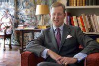 Königliche Hoheit Prinz Bernhard im Schloss Salem
