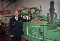 Timo Keirath, Gesamtkommandant der Salemer Feuerwehr.