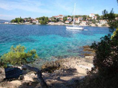 Segelurlaub in Kroatien mit Yachtcharter Achterspring