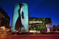 Lichtinstallationen in Montréal. Bildnachweis: Quartier des spectacles Lighting Plan