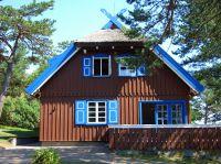 Thomas Mann in Nidden: Hier sein einstiges Sommerhaus, heute Kulturzentrum im litauischen Nida