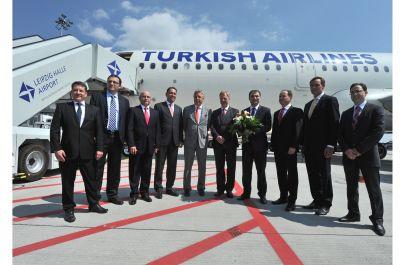 Erstflug Turkish Airlines ab Leipzig/Halle