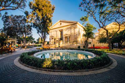 Upper Barrakka Gardens, Valletta, FVA Malta
