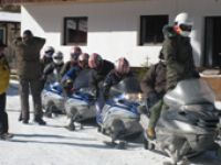 Snowmobile Tour Rumänien