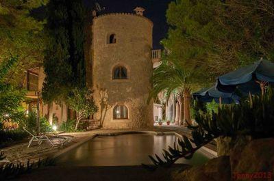 Landhotel & Weingut Can Davero**** bei Nacht