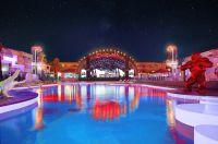 Die Bühne des Ushuaïa Ibiza Beach Hotel