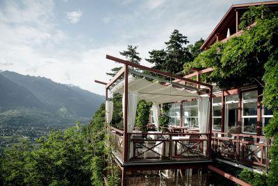 Gourmet Restaurant Prezioso Terrasse