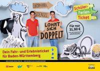 Für nur 31,90 Euro können Schüler mit dem Ferien-Ticket per Bus, Bahn und Bodenseeschiffen, das Ländle erkunden.