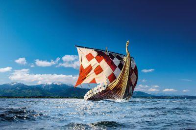 Wikingerschiff Freya