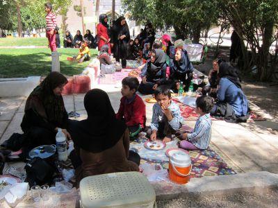 Iran Mittagspause