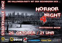 """""""Mysterious Moor"""" unter diesem Motto steht in diesem Jahr die vierte """"O BEX Horror Night""""."""