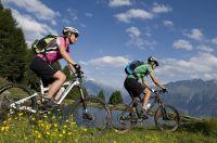 Biken auf den unzähligen Trails im Vinschgau (PhotoGrünerThomas, TV Naturns)