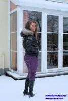 Schnee in Hülle und Fülle gibt es ungewohnter Weise auch noch über Ostern rund um Winterberg