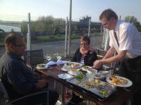 """Frisch aus dem Meer direkt auf den Tisch im Restaurant """"Heimathafen"""" in Laboe"""
