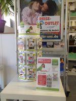 Das Verkaufsdisplay mit den verschiedenen Zeitschriften wie ComputerBild oder Welt am Sonntag