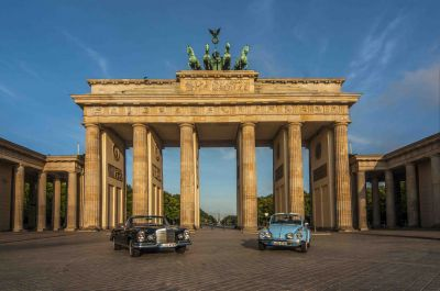 HimmelBlauBerlin: Sightseeing in klassischen Cabrios
