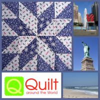 Quilt-Zeit-Reise 2014: Sommer, Sonne und Quilts im Osten der USA