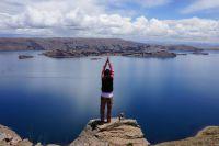 Ausblick auf den Titikakasee