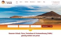 Relaunch: Ferienhaus & Ferienwohnung auf den Kanaren mieten in neuem Design