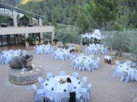 Die herrliche Terrasse der Hotelfinca S'Olivaret ist ideal für die Hochzeitsfeier