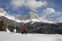 Schneeschuhwandern am Rosengarten – Tourismusverein Tiers am Rosengarten