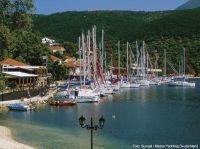 Yachten vor der griechischen Küste