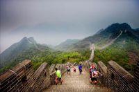 Marathon-Lauf auf der Chinesischen Mauer