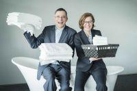 Foto: Rolf Slickers und Isabel Rosenberg, Servitex GmbH.