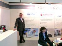 Karsten Jeß, Hauptgeschäftsführer Servitex GmbH (Servitex Kompetenz-Lounge, ITB)