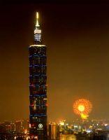 Das höchste Bürogebäude der Welt befindet sich in Taipeh