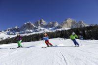 40 bestens präparierte Pistenkilometer erwarten Sie im Skigebiet Carezza Ski