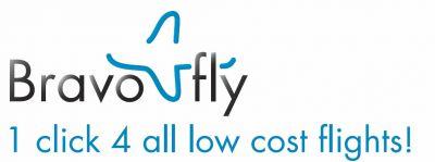 Logo des Billigflugexperten Bravofly