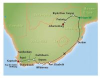 Südafrika-Rundreise und Königreich Swasiland, 16 Tage