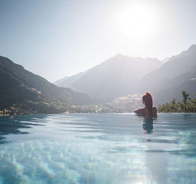 Herbst im Hotel Sonnbichl in Südtirol