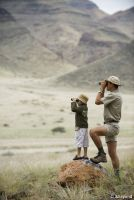 Auf Safari mit der Familie