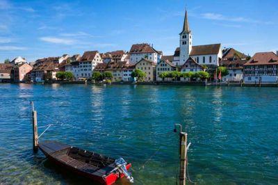 Thurgau Diessenhofen Rhein © Medienstelle-Thurgau-Tourismus